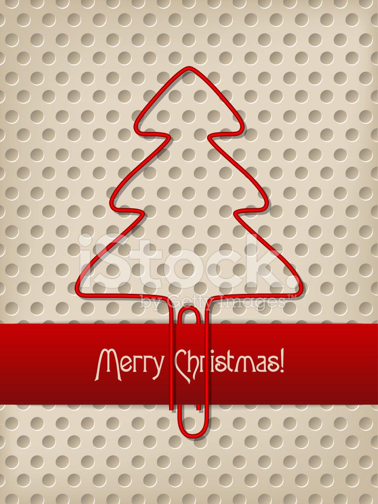 Weihnachten Begrüßung MIT Roter Schleife UND Baum Geformt ...