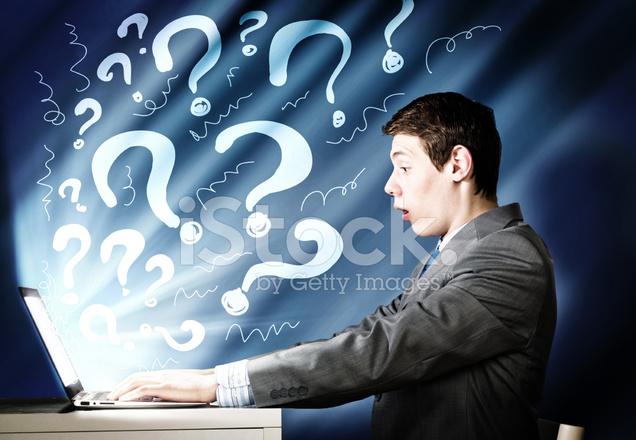 Emotional man using laptop stock photos freeimages com