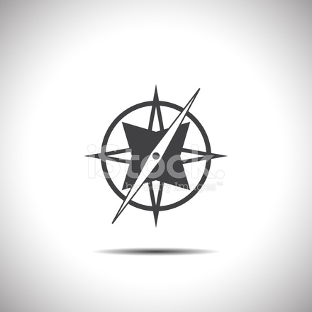 Compass Vector Icon Stock Vector Freeimages