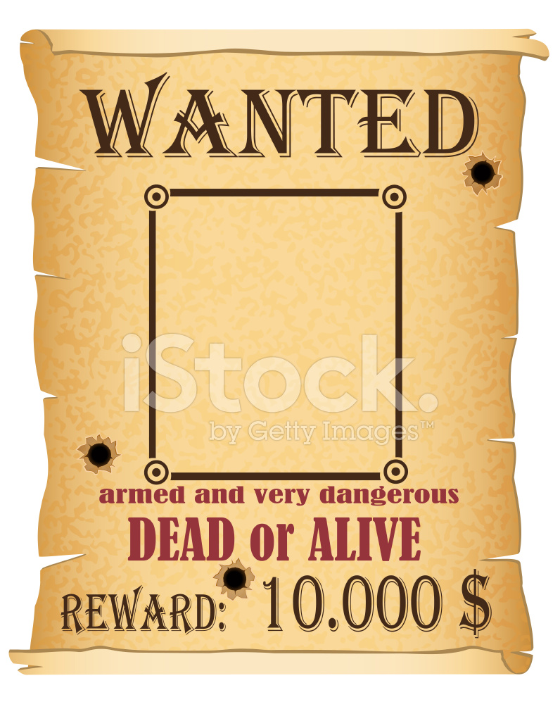 Premium Stock Photo Of Announcement Wanted Criminal Poster Vector  Illustration  Free Wanted Poster Template Download