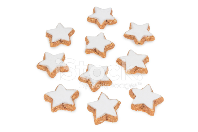 Star Shaped Cinnamon Biscuits Stock Photos Freeimages Com