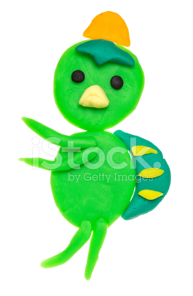 kid s modelling clay model isolated on white stock photos