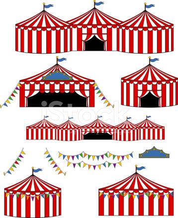 Big Top Circus/Carnival Tents  sc 1 st  FreeImages.com & Big Top Circus/carnival Tents Stock Vector - FreeImages.com