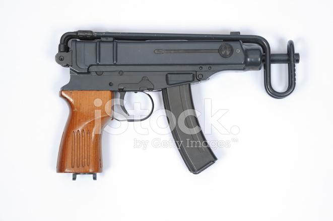 scorpion machine gun