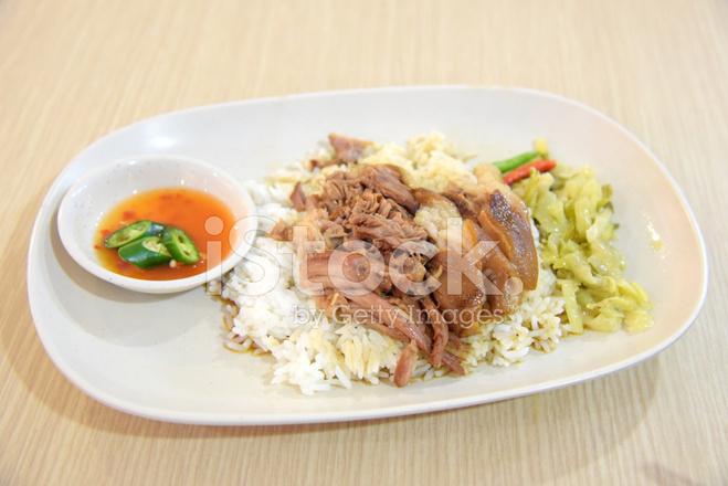 Compote jambe de porc avec du riz cuisine tha landaise for Cuisine thailandaise