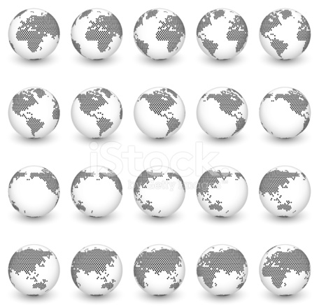 Globe royalty free vector interface icon set world map stock vector globe royalty free vector interface icon set world map gumiabroncs Choice Image