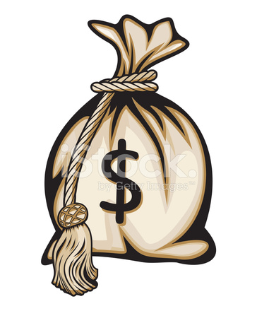 Saco De Dinheiro Com Cifr 227 O Stock Vector Freeimages Com