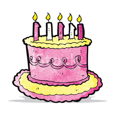 Pleasant Cartoon Birthday Cake Stock Vector Freeimages Com Funny Birthday Cards Online Hendilapandamsfinfo