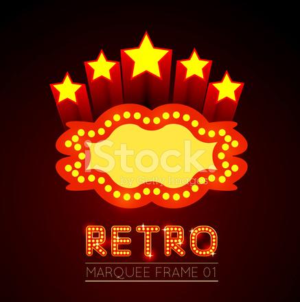 Leere Film, Theater Oder Casino Festzelt Stock Vector - FreeImages.com
