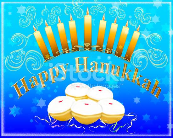 Happy hanukkah greeting card stock photos freeimages happy hanukkah greeting card m4hsunfo