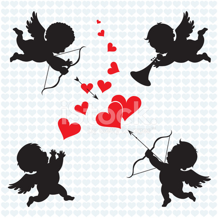 Cupid Engel Stock Vector Freeimages Com