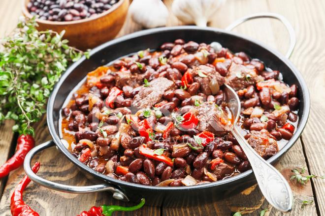 Красная фасоль с мясом рецепты с фото