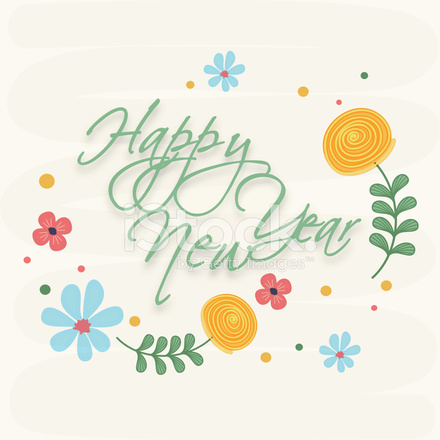 Poster of Happy New Year Celebration Stock Vector - FreeImages.com