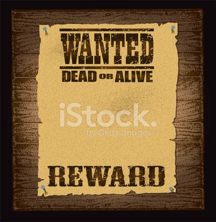 Steckbrief Hintergrund Stock Vector - FreeImages.com