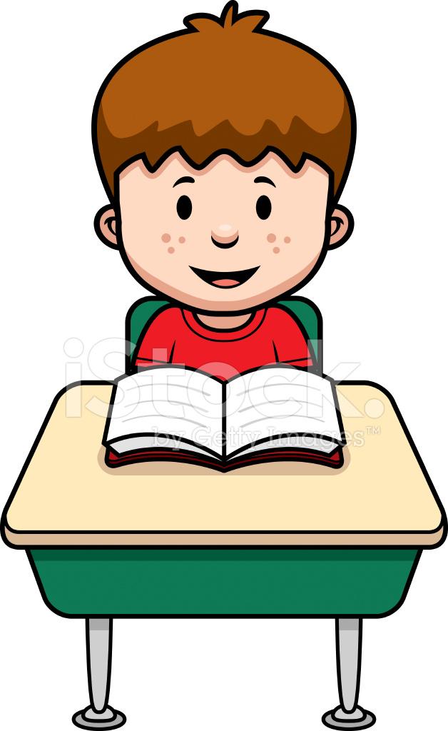 Cartoon Student Stock Vector Freeimages Com