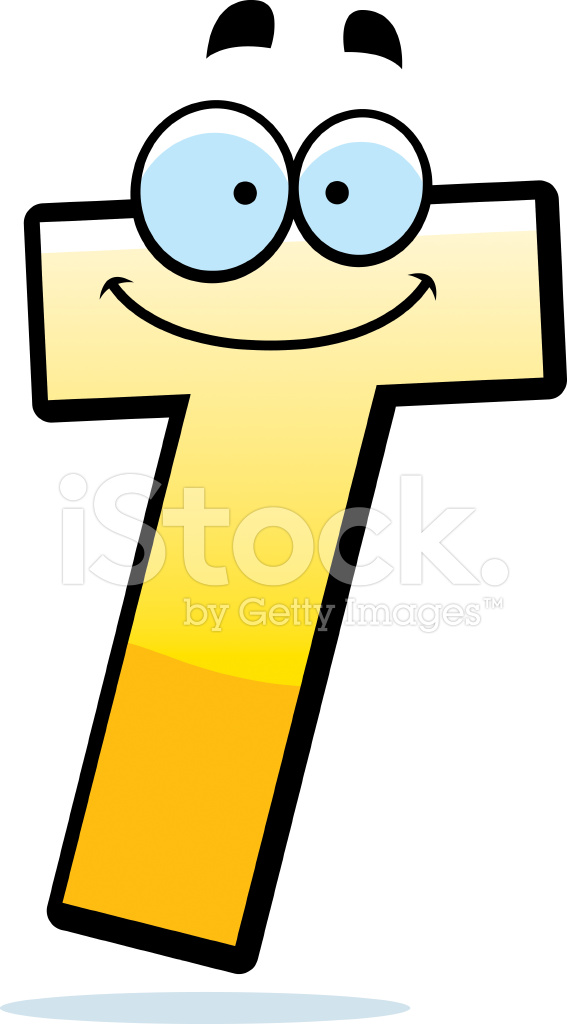 Cartoon Letter T Stock Vector Freeimages