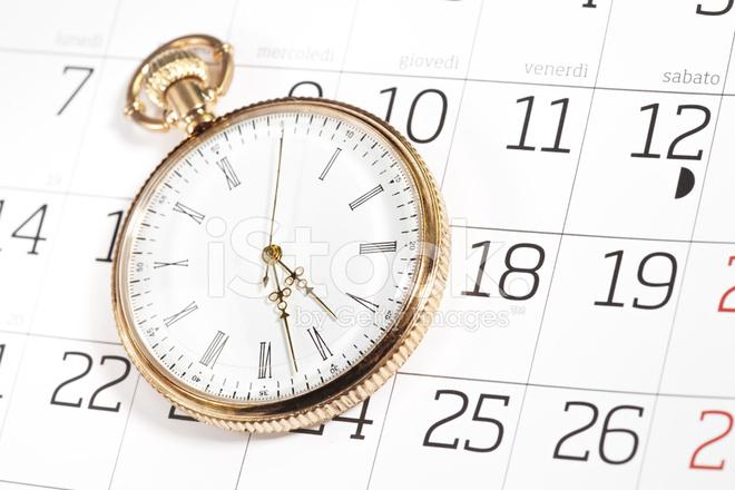 Календарь и часы на html
