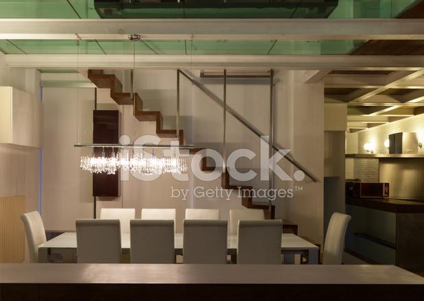 Interieur, Große Loft, Wohn/esszimmer Stockfotos - FreeImages.com