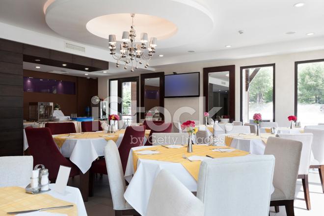 Elegant restaurant interior stock photos freeimages