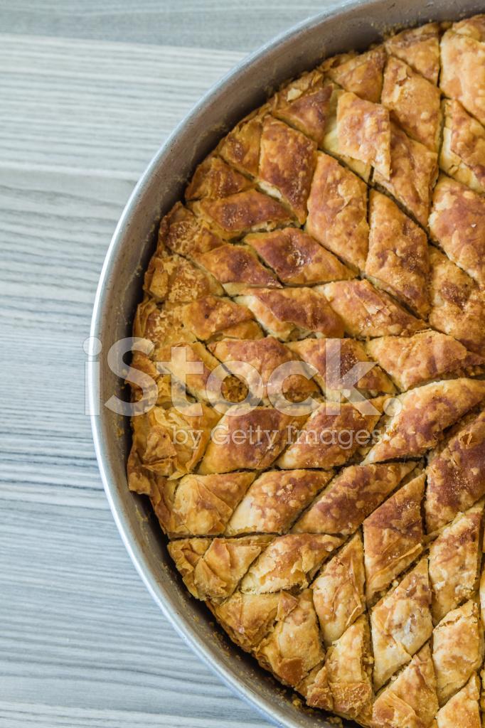 Turkische Pistazien Kuchen Dessert Baklava Stockfotos Freeimages Com