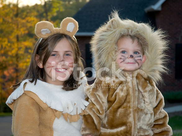 cute lion halloween costumes boy girl trick or treating