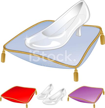 Vidrio Zapatillas zapatos Stock Vector - FreeImages.com 9fa0a9c6ba57