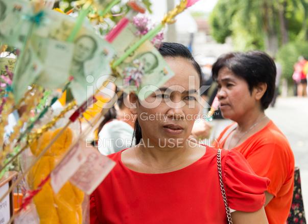 Women Around Buddhism Charity Event stock photos ...
