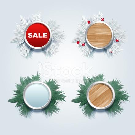 Werbeartikel Weihnachten.Weihnachten Werbeartikel Etikettendesign Stock Vector Freeimages Com