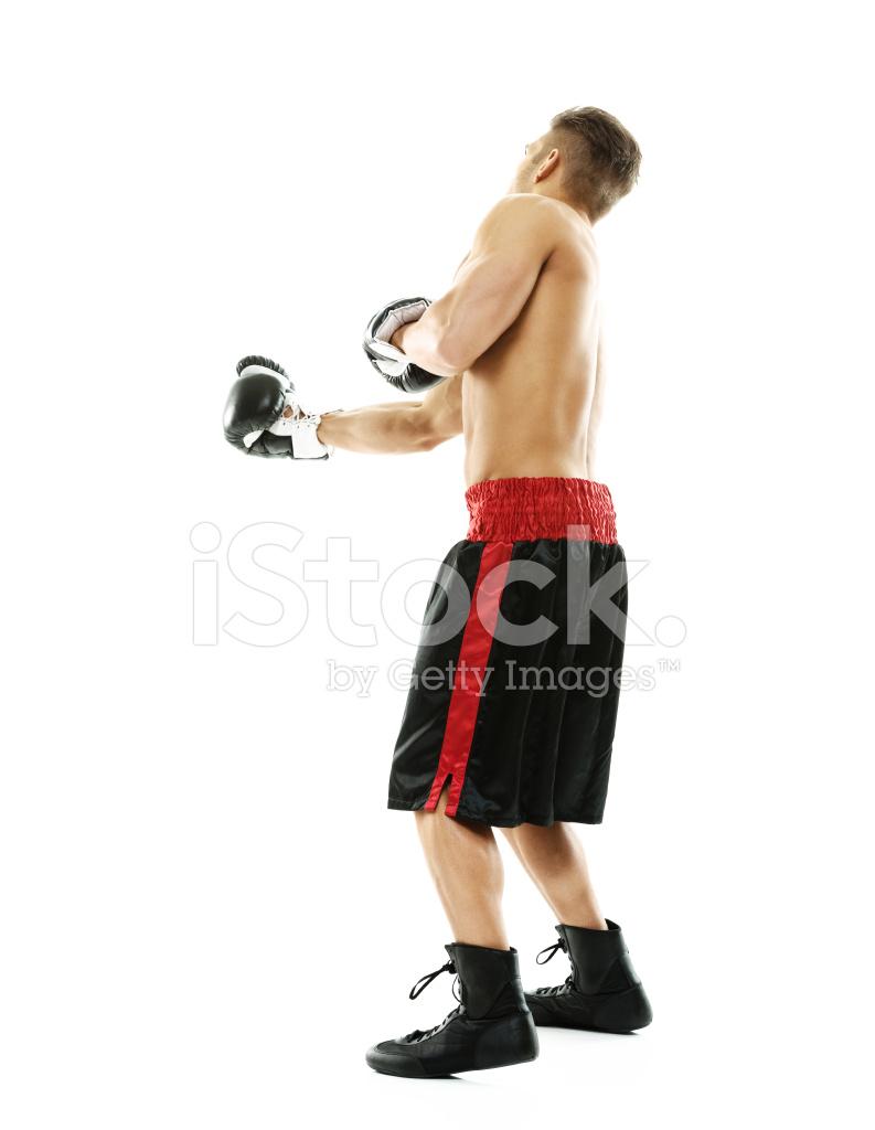 Nackter Oberkörper Muskulöse Mann Boxen Stockfotos - FreeImages.com