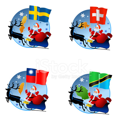 Collection Merry Christmas Stock Vector - FreeImages.com