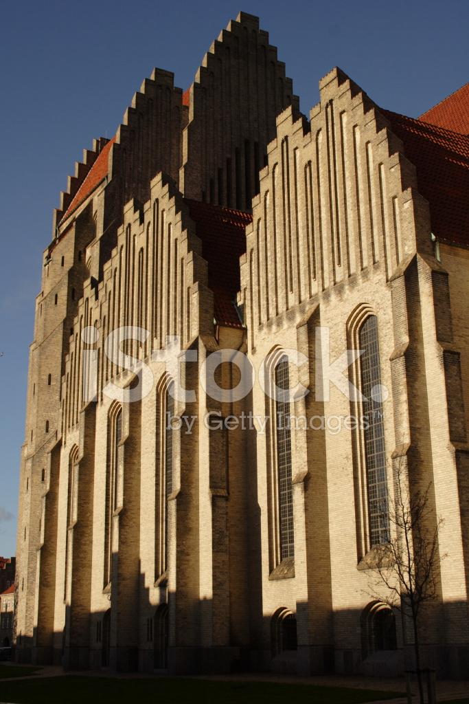 Grundtvig Church Copenhagen stock photos - FreeImages.com