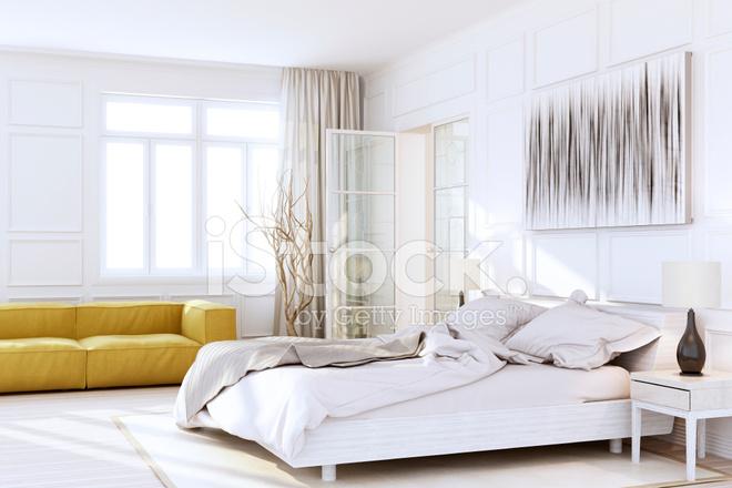 Luxe Slaapkamer Interieur : Witte luxe slaapkamer interieur stockfoto s freeimages