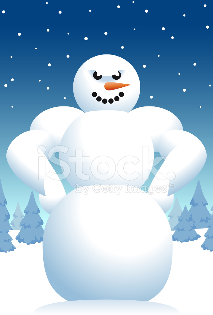 Abominable Snowman Stock Vector Freeimages Com
