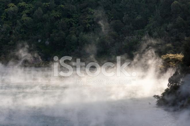 Cuire la vapeur de lac g othermique dans waimangu photos for Cuire a la vapeur