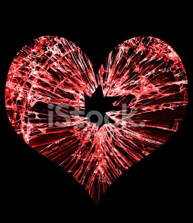 Broken Glass Heart Stock Photos - FreeImages.com