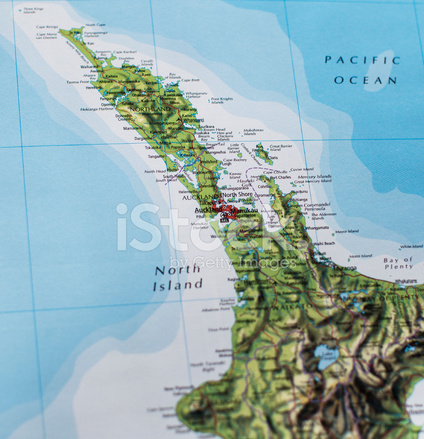 New Zealand Northland Map Detailed.Map Of Northland New Zealand Stock Photos Freeimages Com