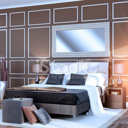 Premium Stock Photo of Sunrise Bauhaus Bedroom. Sunrise Bauhaus Bedroom Stock Photos   FreeImages com