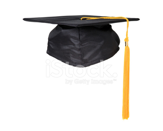 3d3bf1072 Black Graduation Cap With Yellow Tassel Stock Photos - FreeImages.com
