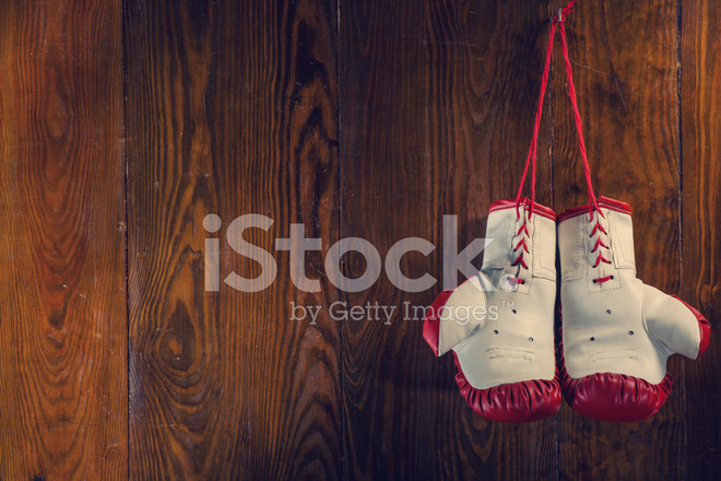 Shiv Naresh Teens Boxing Gloves 12oz: Old Boxing Gloves Stock Photos