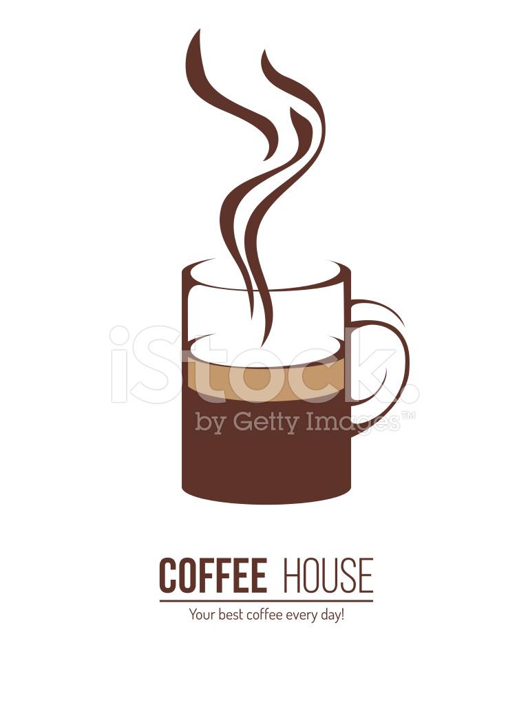 Kaffee Logo Vorlage Stock Vector - FreeImages.com