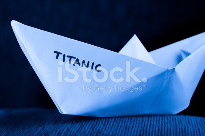 paper ship model titanic stock photos freeimages com
