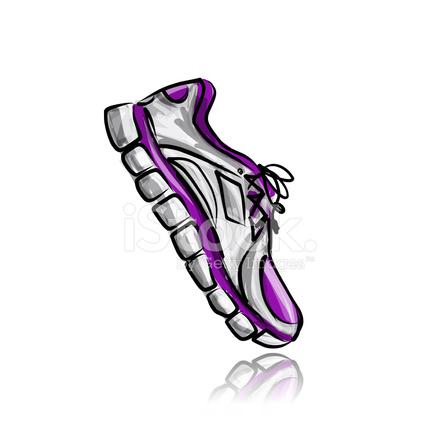 Stock DeporteBoceto Su Zapatillas Vector De Para Diseño qVpGSUzM