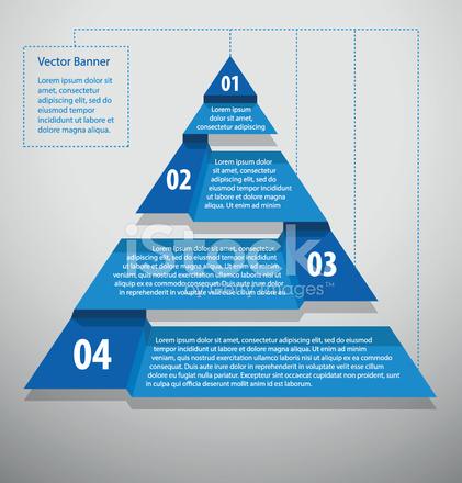 Diagrammvorlage, Dreieckig Stock Vector - FreeImages.com