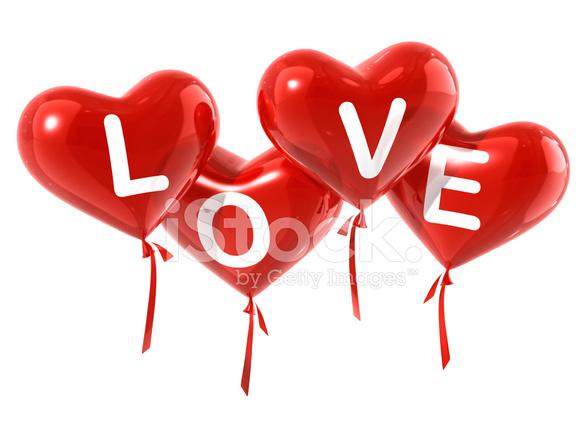 Love Balloon Hearts Stock Photos FreeImagescom