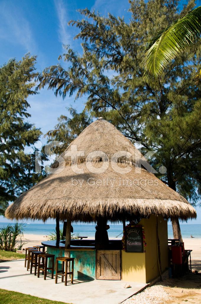 Tropical Beach Bar Stock Photos