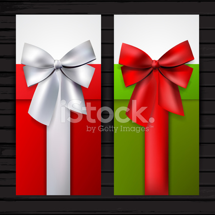 Two vertical gift banners