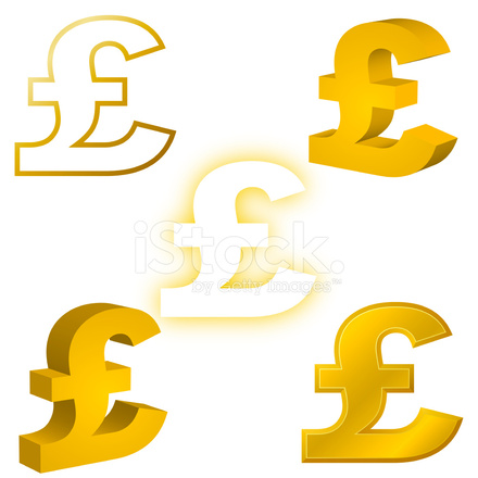 Pound Currency Symbol Stock Vector Freeimages