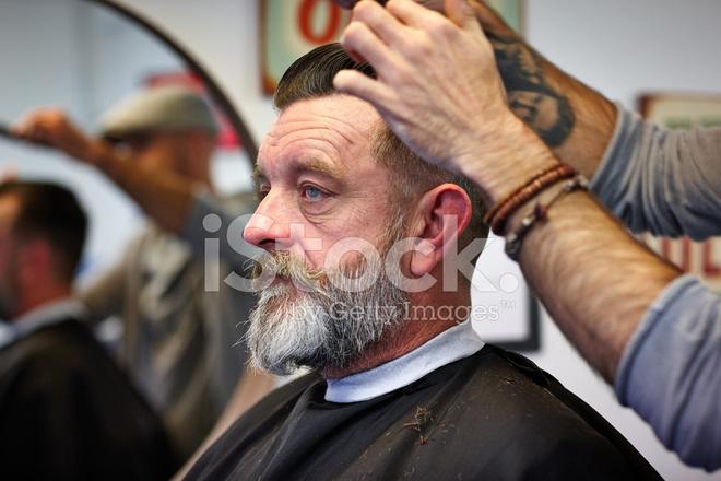 corte de pelo a hombre maduro