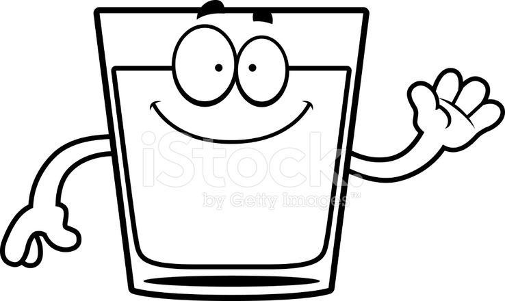 Dessin anim de verre ondulant stock vector - Dessin de verre ...