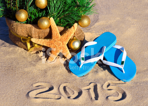 Starfish Christmas Tree IN Sand stock photos - FreeImages.com
